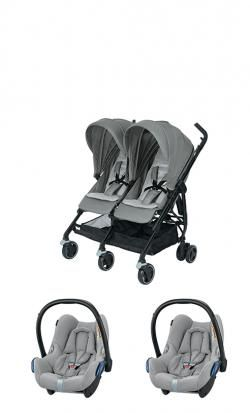 Double twin stroller duo twin bebe confort dana for2 online - Price: 649.00 €