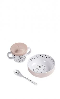 baby food set done by deer first meal happy dots online - Price: 17.50 €