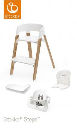 steps stokke oak natural chair cushion-tray-babyset online - Price: 346.00 €