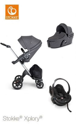 Trio Stokke Xplory V6 With Black Handle Price 1459 00 Product