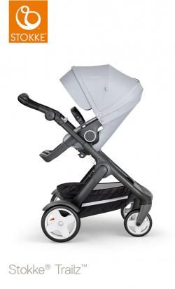 stroller stokke trailz classic wheels and black handle online - Price: 1099.00 €