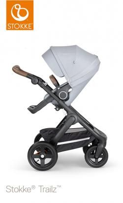 stroller stokke trailz terrain wheels and brown handle online - Price: 1099.00 €