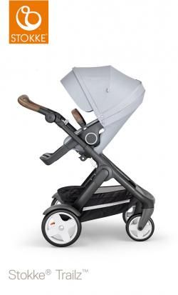 stroller stokke trailz classic wheels and brown handle online - Price: 1099.00 €