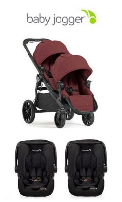 Double twin stroller duo twin baby jogger city select lux  online - Price: 1379.00 €
