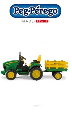 trattore peg perego john deere ground force licensed product online - Price: 289.00 €