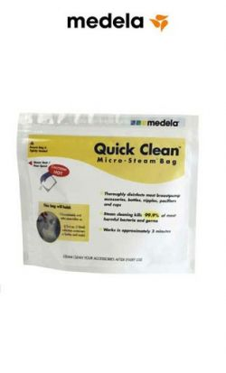 sacche per microonde medela quick clean bianco online - Price: 12.90 €