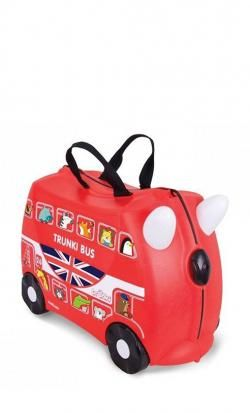 rideable suitcase trunki boris bus red online - Price: 47.00 €
